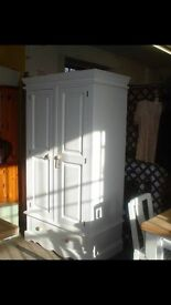 Beautiful Solid Wood Wardrobe with Drawer