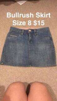 Bullrush Denim skirt