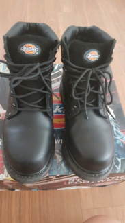DICKIES STEEL TOE WORK BOOTS SIZE US_9