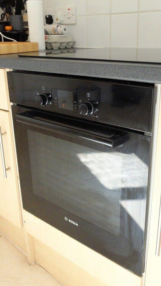 Bosch single fan oven