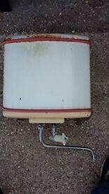 1950's retro electric water heater tank