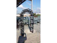 Cast iron garden arch