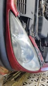 peugeot 206 headlight