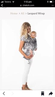 Chekoh brand baby carrier wrap