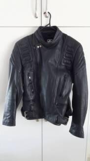 Leather Road Bike Jacket