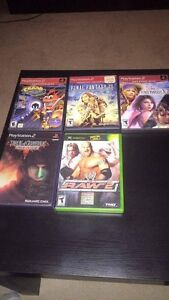 PS2 XBOX GAMES