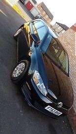 MK 7 Volkswagen Golf, 5 door, 1.6 diesel, sat nav LOW MILEAGE