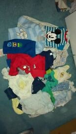 Babies clothes bundle 0-3 and 3-6 months