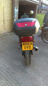 xj600 runner with logbook needs some tlc