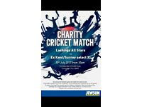 Huge Charity Cricket Match