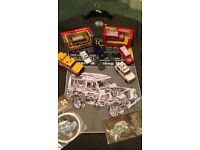 Land rover and range rover models and collectables