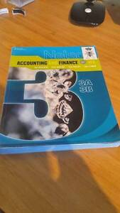 Accounting and Finance Nelson Textbook Units 3 and 4 Mosman Park Cottesloe Area Preview