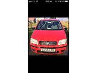 fiat punto 04 plate only 55788 miles