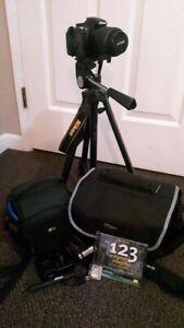Nikon D3100 DSLR Camara 18-55 Lens