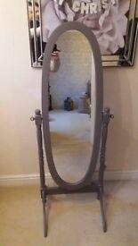 Grey Cheval Mirror