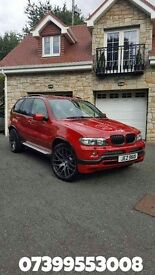 Stunning rare imola red x5. Fully kitted top spec. Poss px