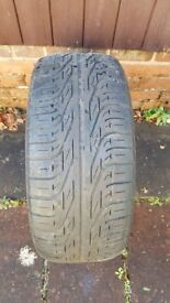 Pirelli p6000 part worn tyre with good tread 225x45x17
