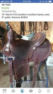 FX3 Barrel saddle