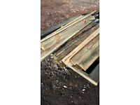 1650 x 125mm bark edged seconds -cladding featheredge - shelters