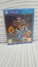 PS4 games Shovel Knight (brand new!) Rainbow Six Siege