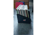 Portable Record Box(Holds appx 100 records)