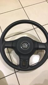 Vw transporter t5.1 (caddy) steering wheel as new