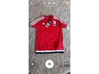 age 9-10 middlesbourgh football top