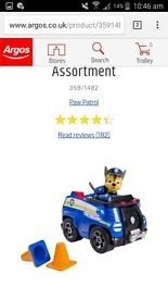 Looking for paw patrol vechiles for paw patroller