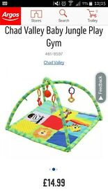 Chad valley play mat. And matching bouncer. Good condition.