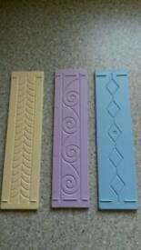 Embossing boards