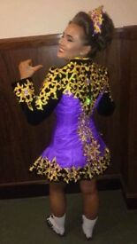 Stunning Irish Dance Dress worn twice immaculate