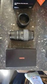 Sigma 70 - 300 DG Macro for sale £40