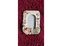 Teddy Bear Picture Frame 7x10 inches