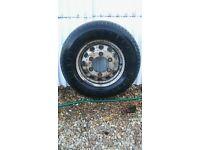 van wheel