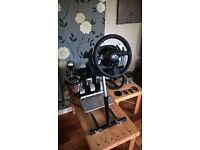 Thrustmaster T500RS + T3PA PRO + TH8A Shifter +WheelStandPro + Extras
