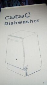 Integrated Dishwasher - Cata DWI45 - As New