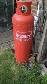 47kg full /unused propane calor gas bottle