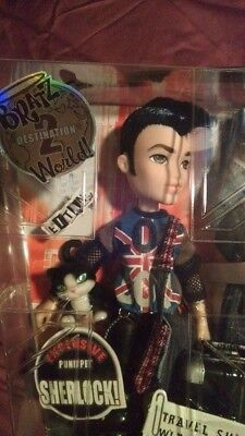 London Punkz Eitan fashion doll - Bratz World Boyz –