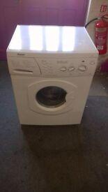 white hotpoint 4.5kg 1200 spin washer dryer