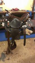 """NTX Saddlery - Barrel Racing Saddle 16"""" (Suit Narrow type horse) Humpty Doo Litchfield Area Preview"""