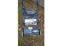 MacAllister MRS 1400 ELECTRIC LAWN SCARIFIER and RAKER