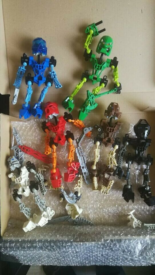 Lego Bionicle alle 6 Toa Gebraucht