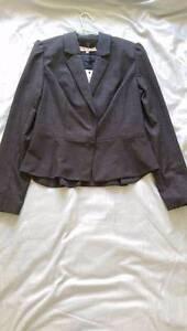 s12 Review charcoal plaid suit jacket Victoria Park Victoria Park Area Preview
