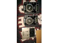 Pair Numark ndx200 and numark mixer