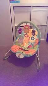 Vibrating rocking chair
