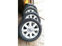 "Golf 5 16"" wheels and Continental tyres"