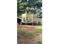 12ft Trampoline with net surround