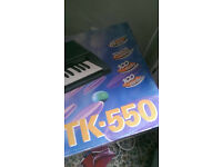 Casio TCK 550 keyboard songbank