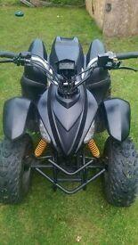 quad bike 100cc sliver sport