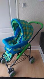 BEBECAR Colour pram 2in1 in very good condition